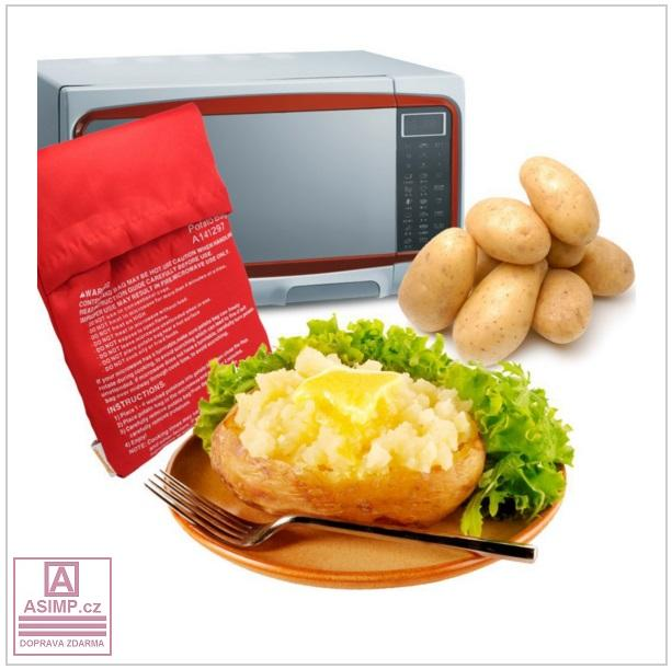 Sáček na pečení v mikrovlnné troubě / tnk-13-00705