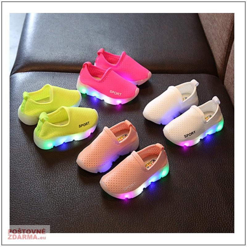 Dětské svítící boty / XD-00049