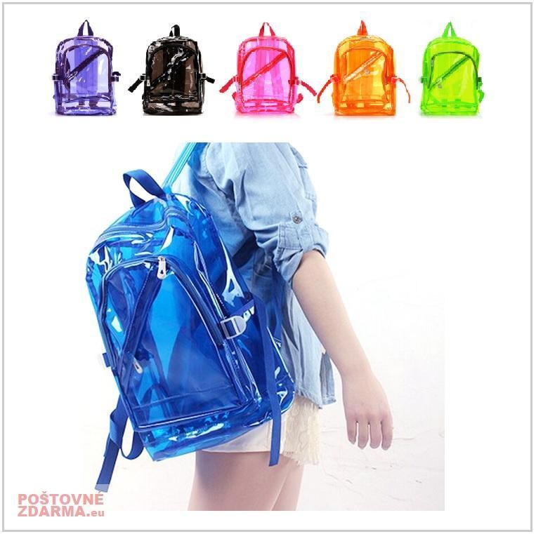 Dívčí průhledný batoh / AT-00674
