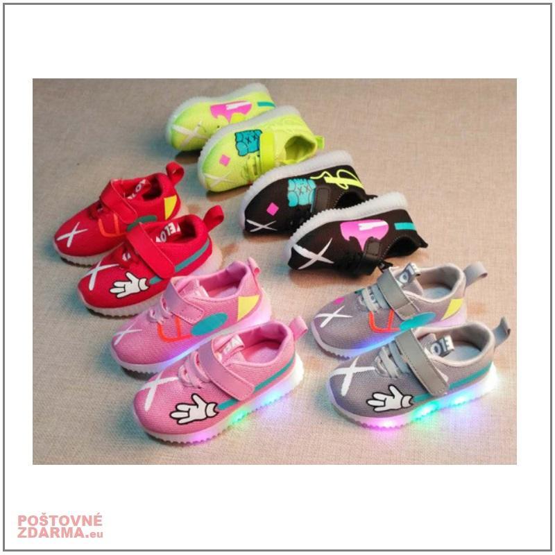 Dětské svítící boty / AT-00716