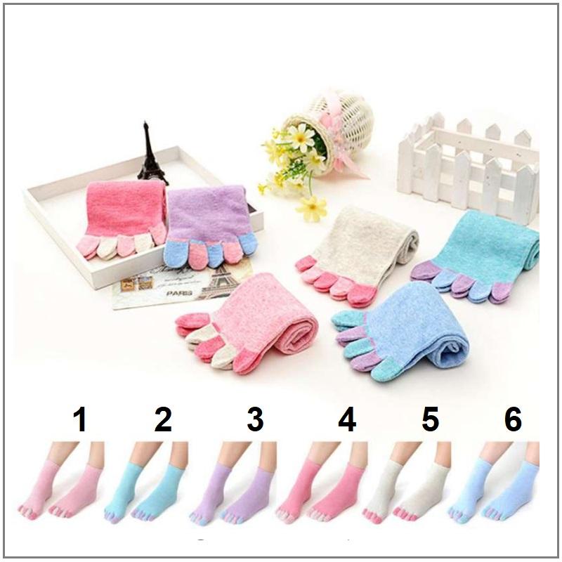 Dámské prstové ponožky / XT-00428