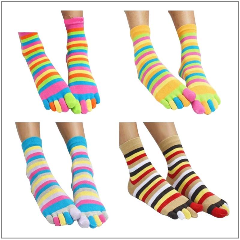 Dámské prstové ponožky / XT-00431