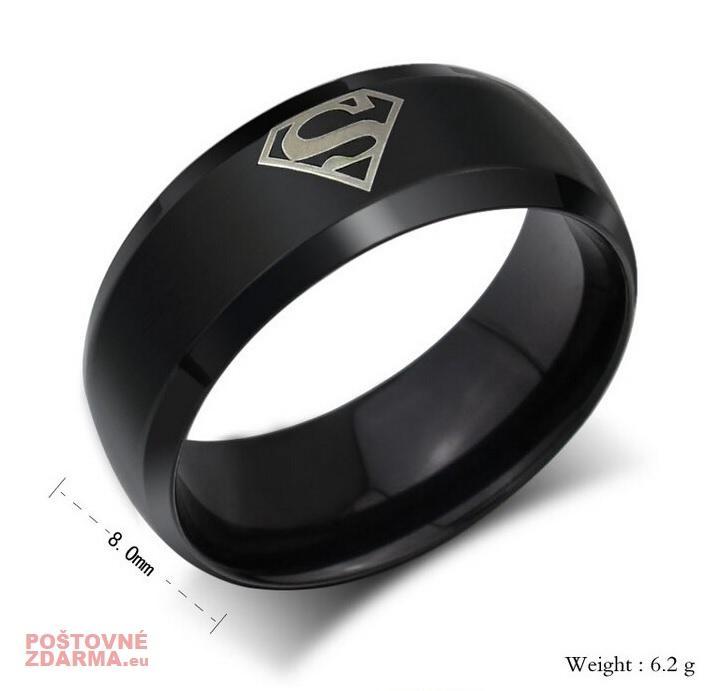 """Pánský prsten """"Superman"""""""