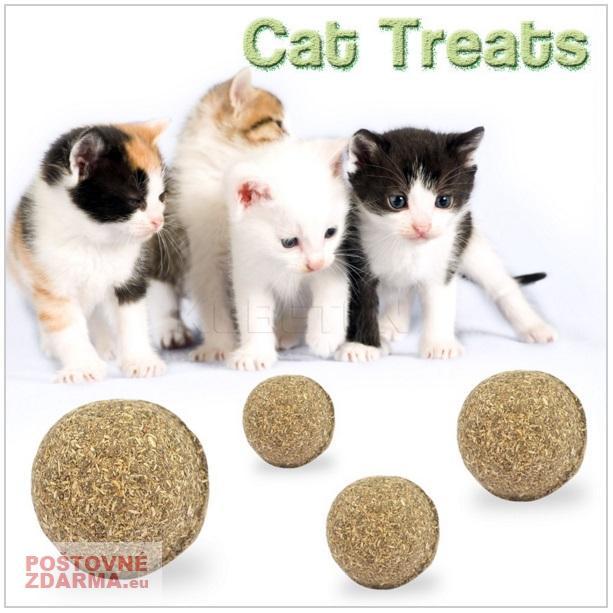 Catnipová kulička na hraní pro kočky / nz9-00001