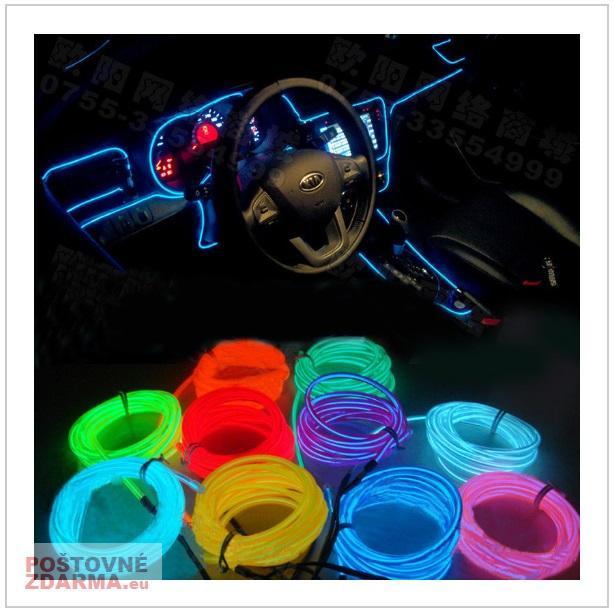 Neonové interiérové LED lanko / tnk-13-01248