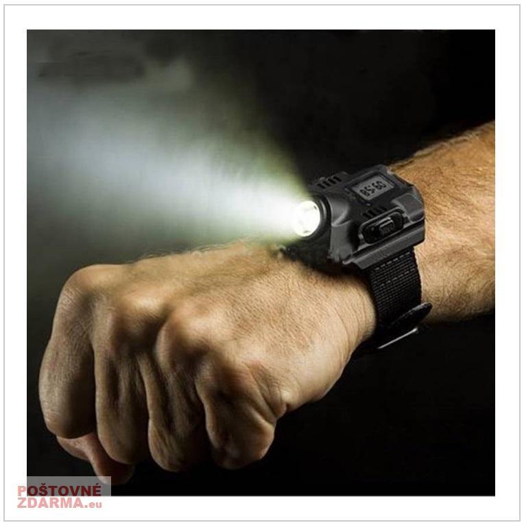 Hodinky s LED svítilnou / tnk-13-02147