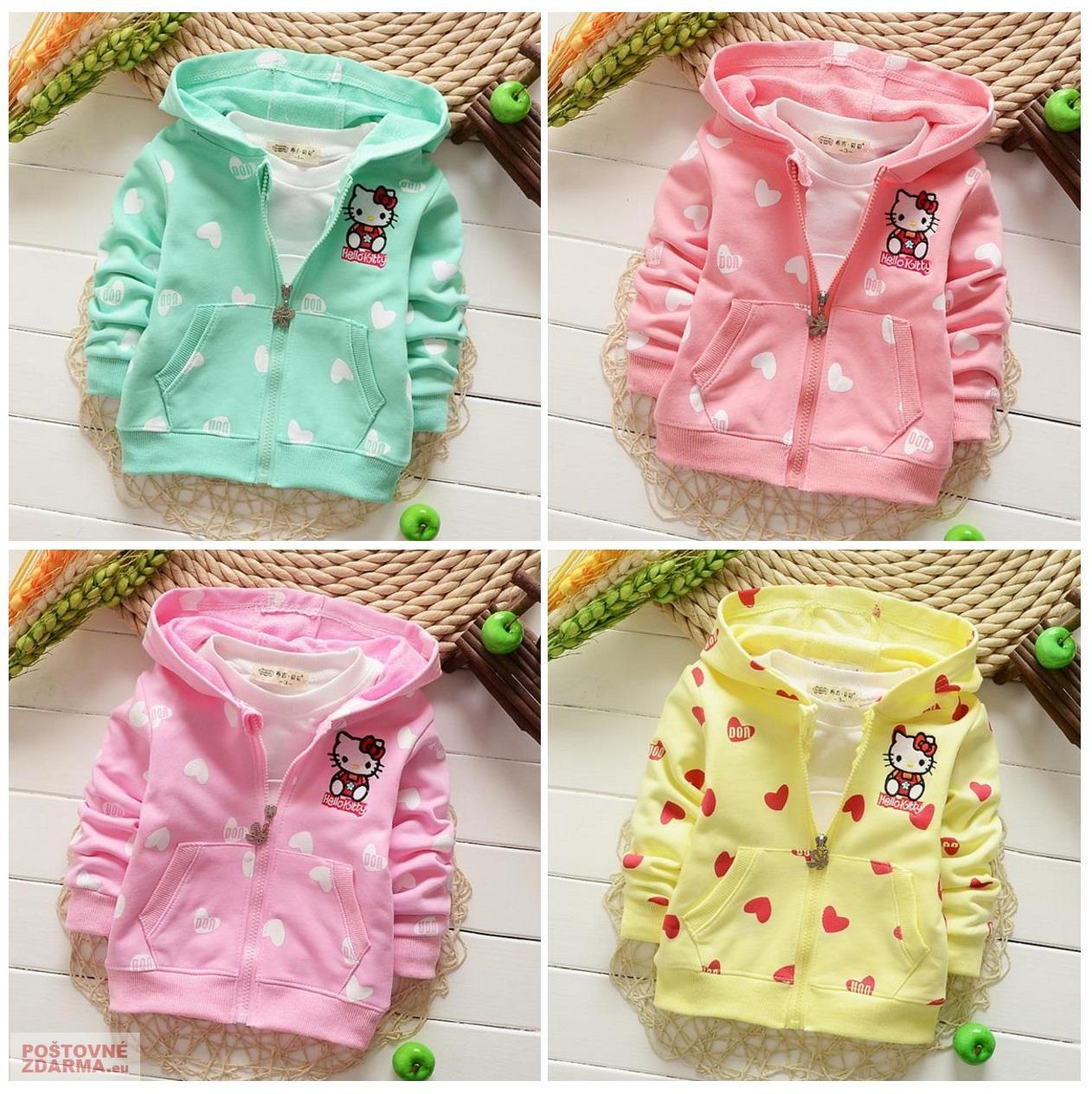 Dětská mikina - Hello Kitty / dnk-13-01243