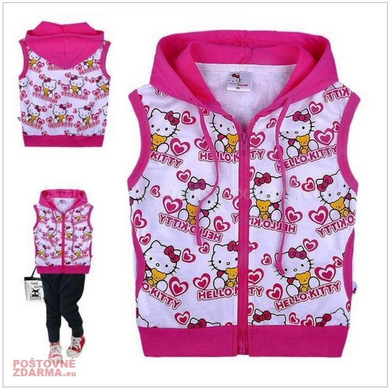 Dětská vesta - Hello Kitty / dnk-13-01245