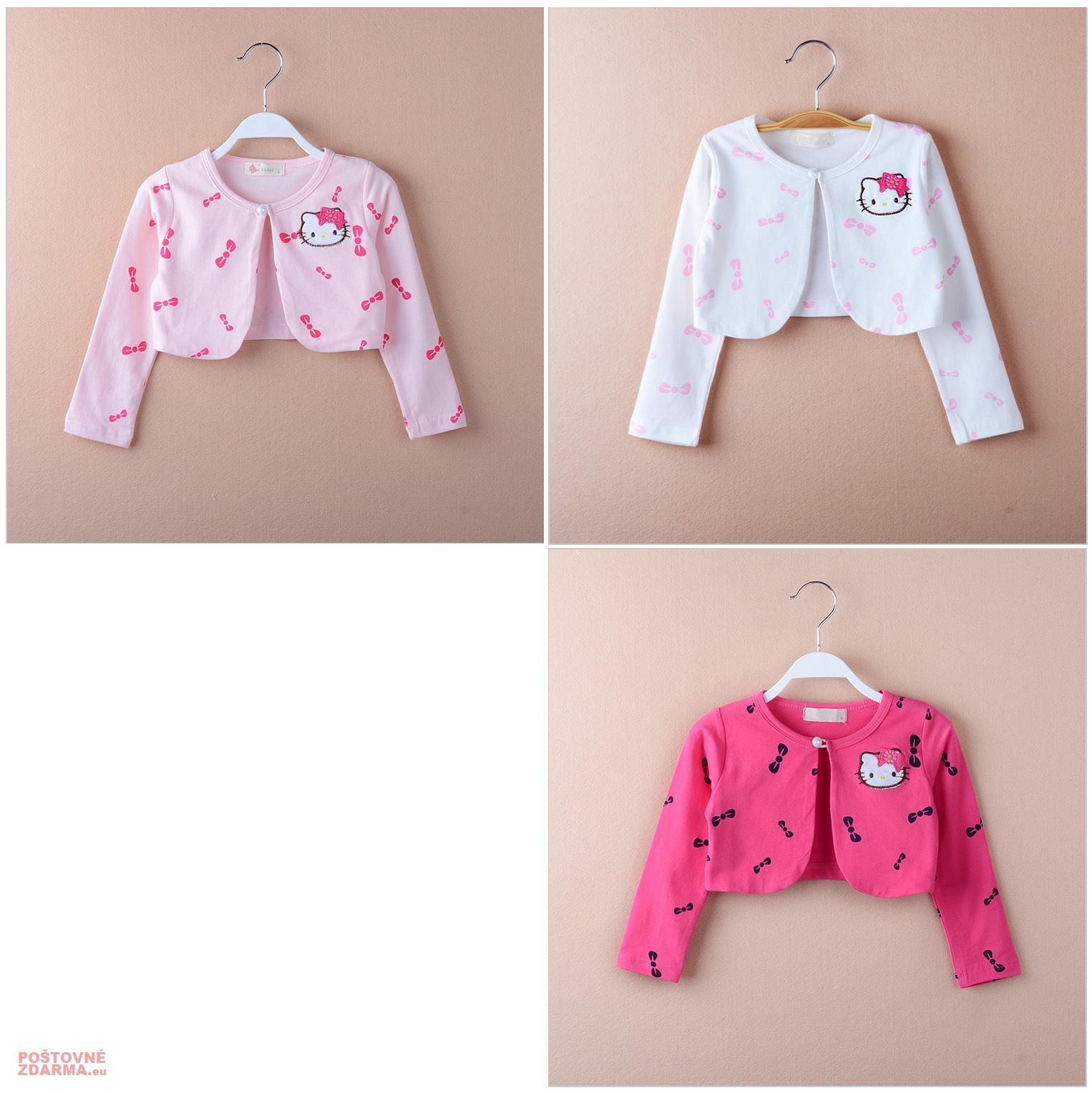 Dětský svetřík - Hello Kitty / dnk-13-01250