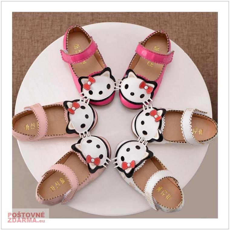 Dětské sandály - Hello Kitty / AD-00209