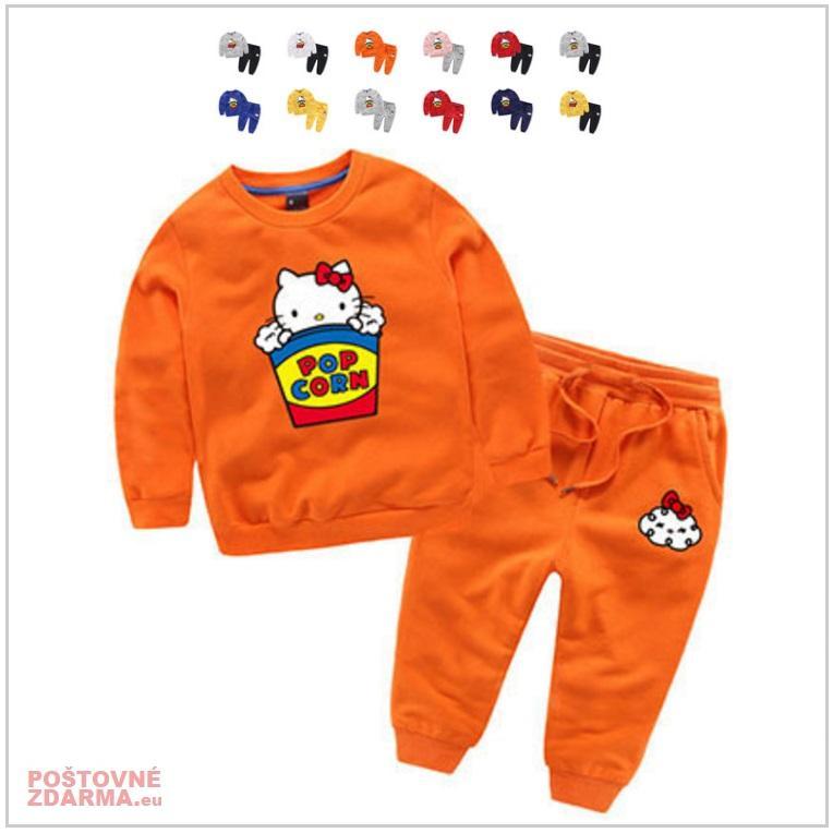Dětská tepláková souprava - Hello Kitty / AT-00371