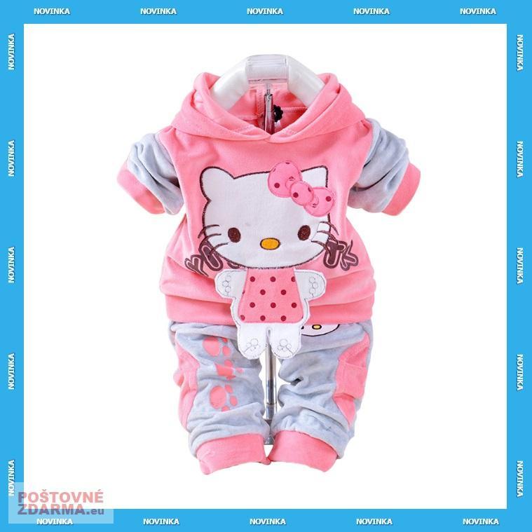 Dětská souprava - Hello Kitty / KT-00095a