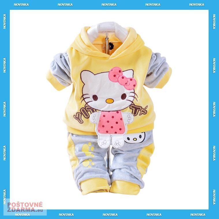 Dětská souprava - Hello Kitty / KT-00095b