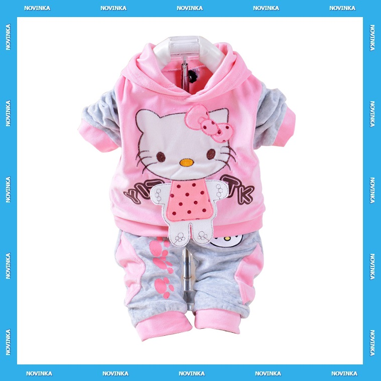 Dětská souprava - Hello Kitty / KT-00095c