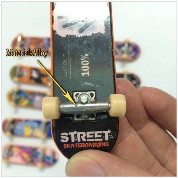 Prstový skateboard / AS4-00045