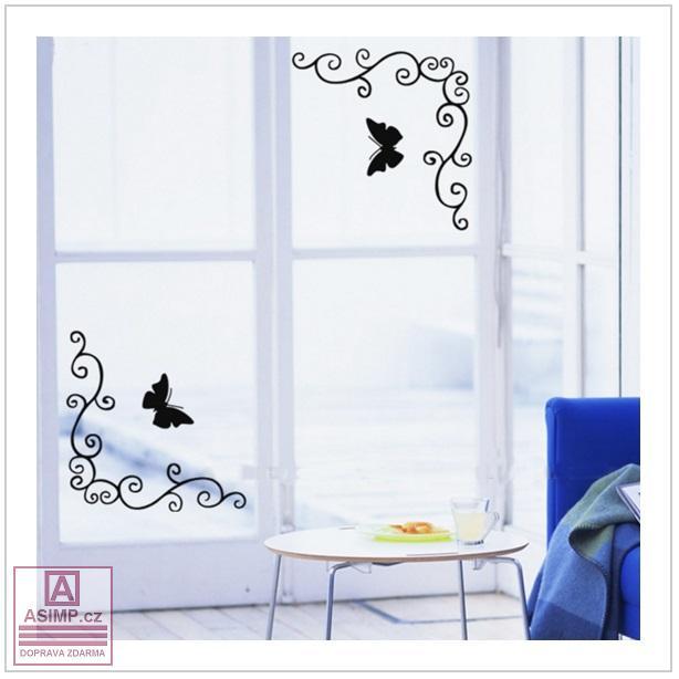 Dekorace na okna, nábytek