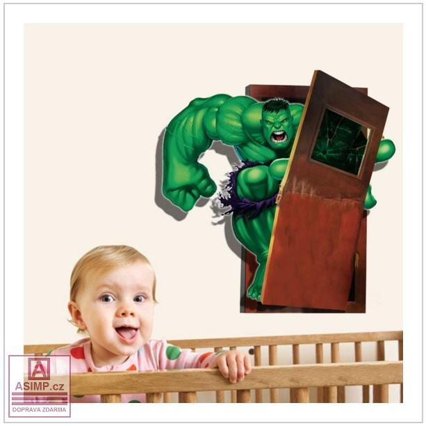 Samolepka na zeď - Hulk