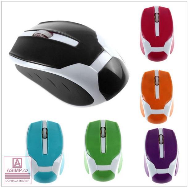 Bezdrátová mini optická myš