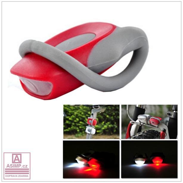 LED osvětlení na kolo (2 ks)