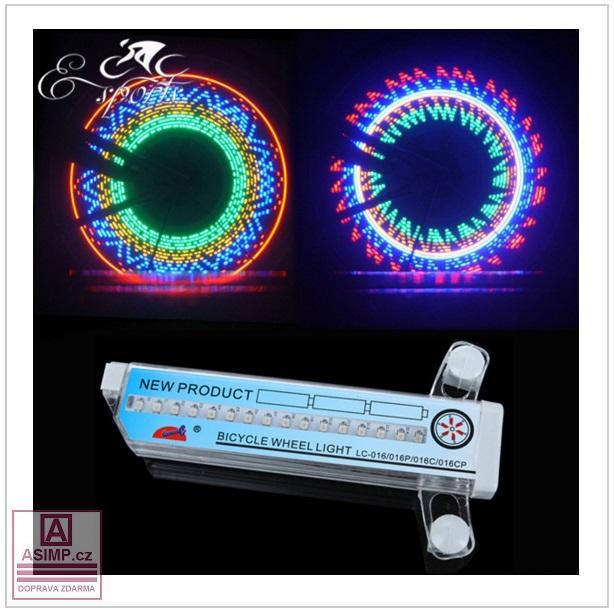 LED světlo na kolo