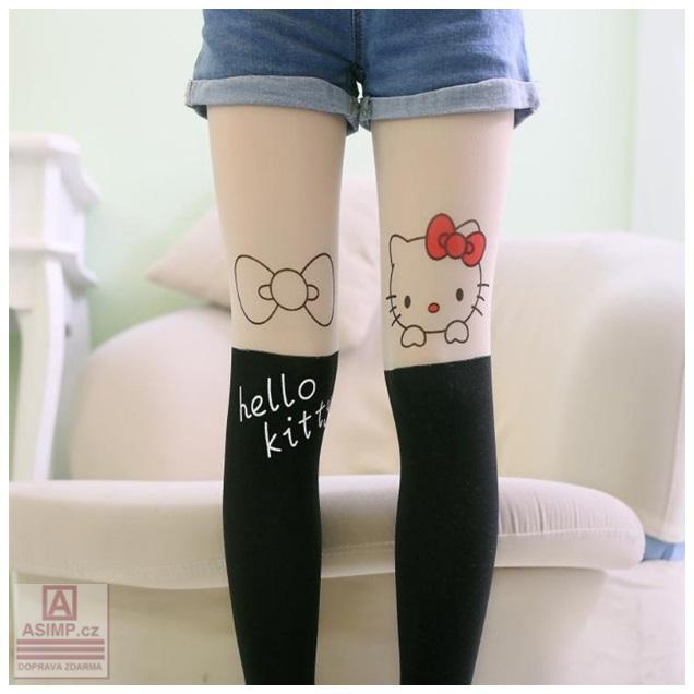 Dětské punčocháče - Hello Kitty