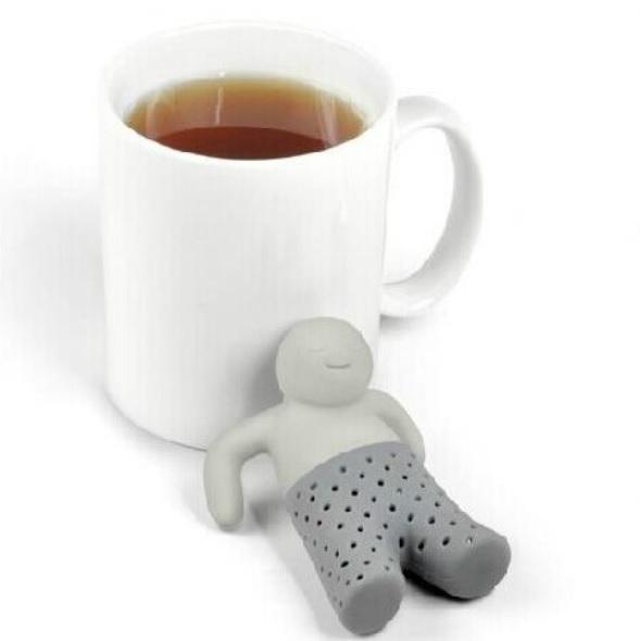 Sítko na čaj - panáček