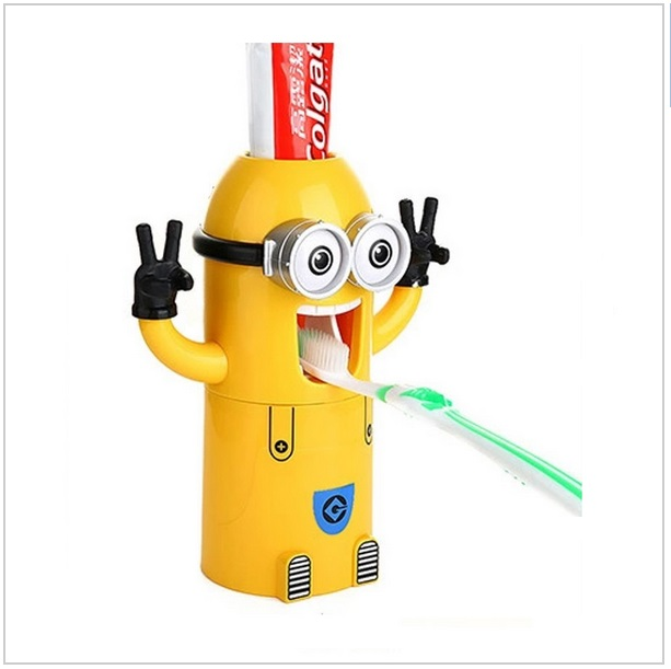 Dávkovač zubní pasty - Mimoň dvouoký