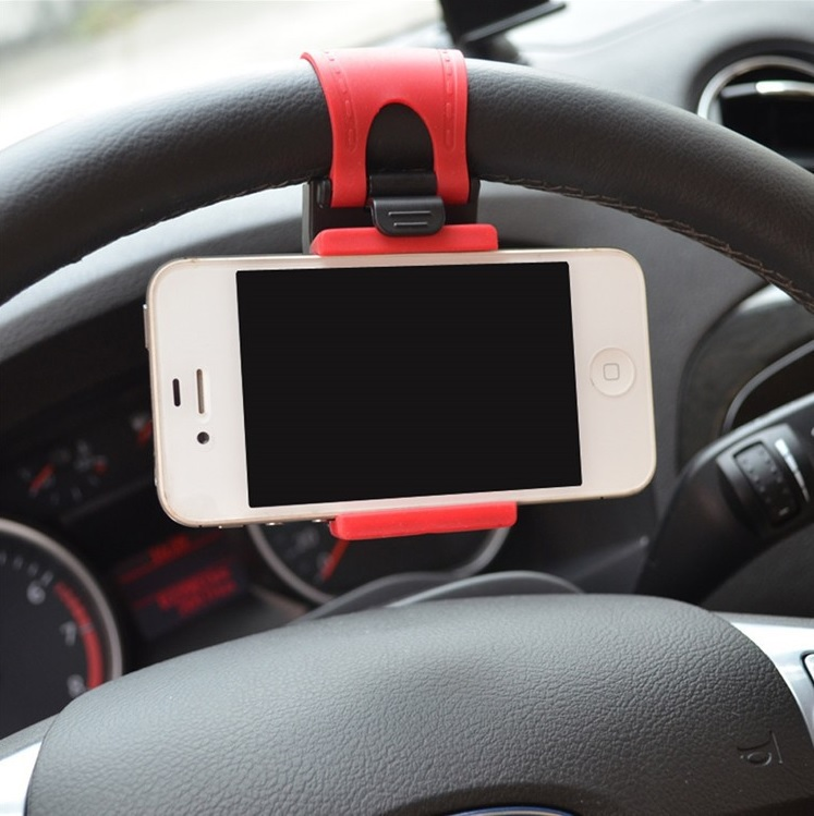 Držák mobilu na volant