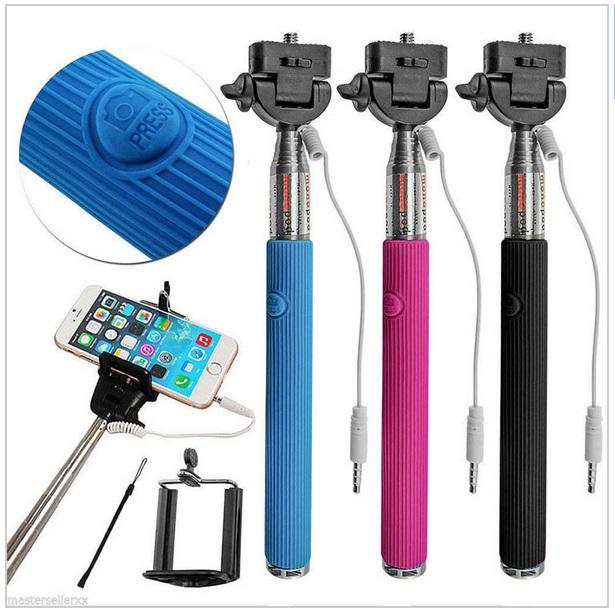 Selfie tyč (20 - 98 cm)
