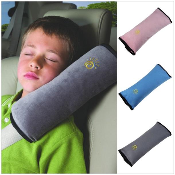 Bezpečnostní polštář pro děti do auta