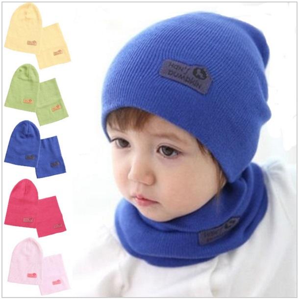 Dětská zimní čepice + šála