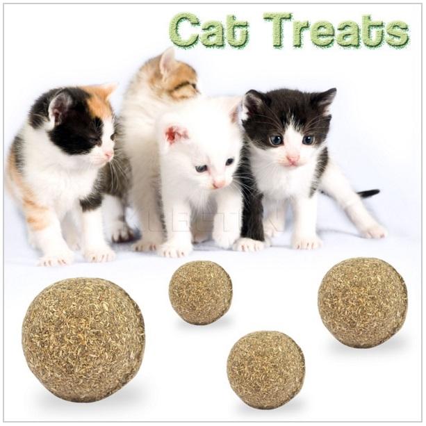 Catnipová kulička na hraní pro kočky