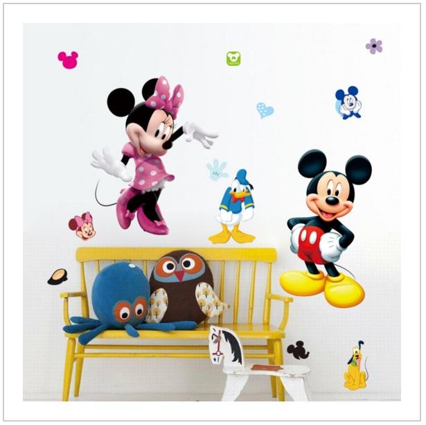 Samolepící tapeta Mickey & Minnie Mouse 50 x 70 cm