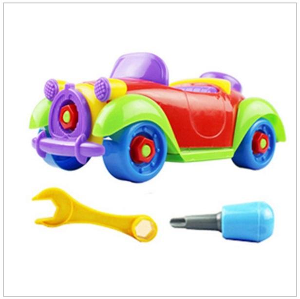 Skládací autíčko s nářadím