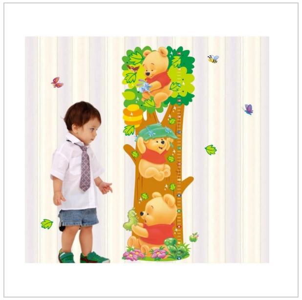 Samolepka na zeď - Medvídek Pú