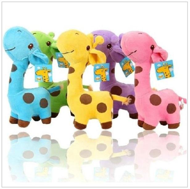 Dětská plyšová hračka - Žirafa