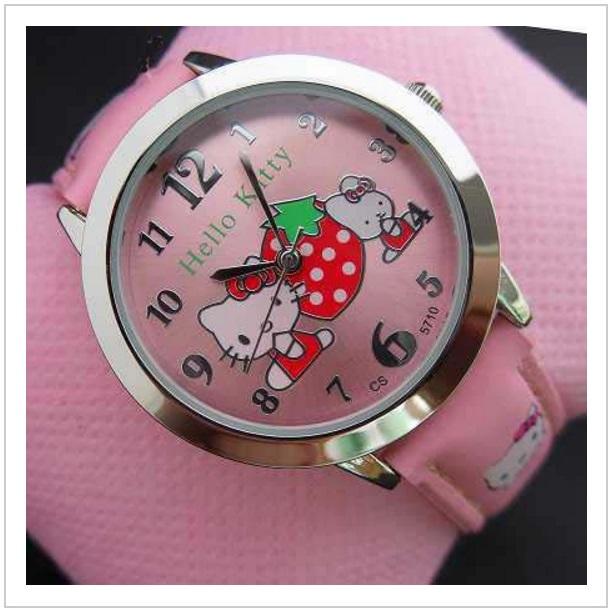 Dětské hodinky - Hello Kitty