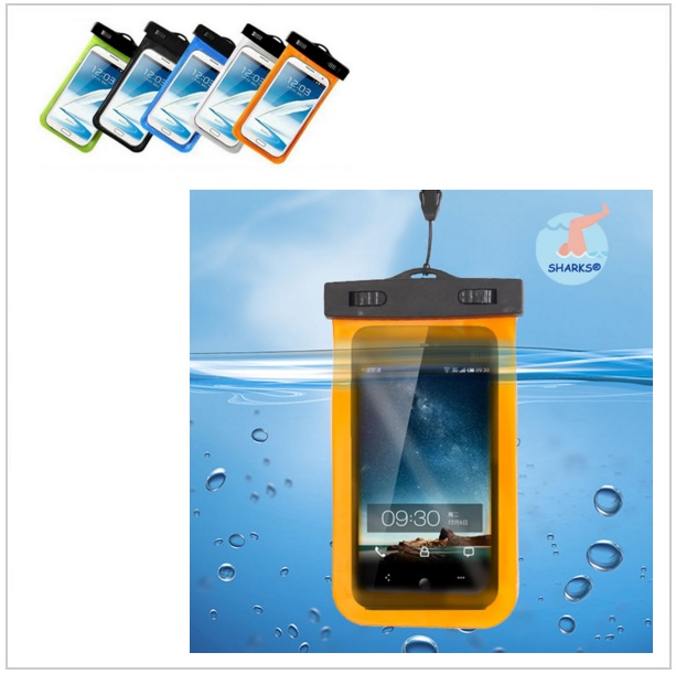Voděodolné pouzdro (17 x 10 cm) na mobil