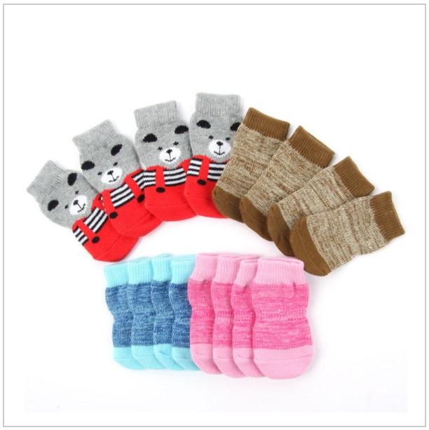 Ponožky pro psy (4 ks)