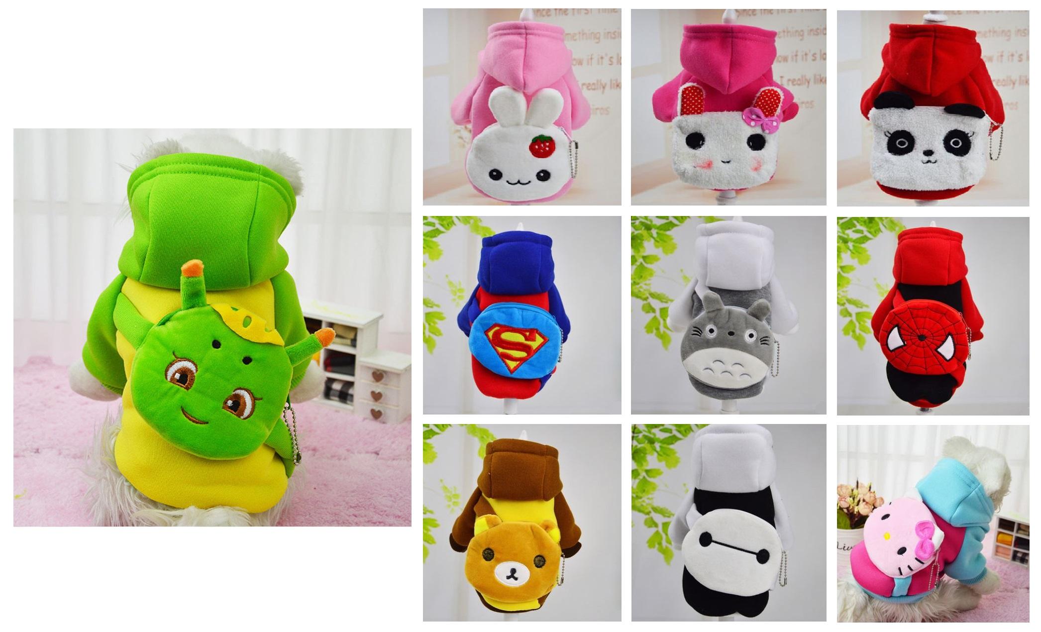 Obleček pro psy - Hello Kitty, Superman, Spiderman ...