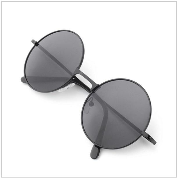 Unisex retro sluneční brýle