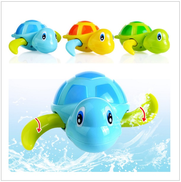 Hračka do vody - natahovací plavající želva