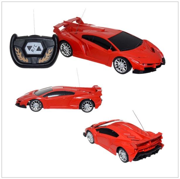 Auto na dálkové ovládání - červené