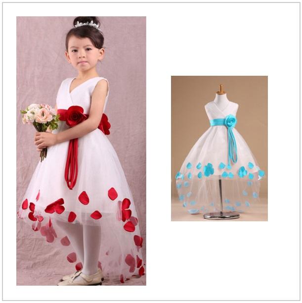 Dětské šaty - červené