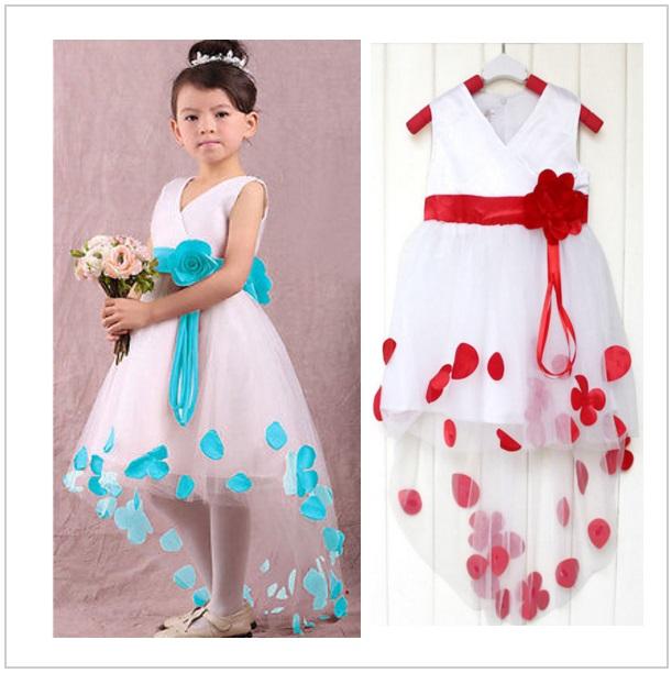 Dětské šaty - modré