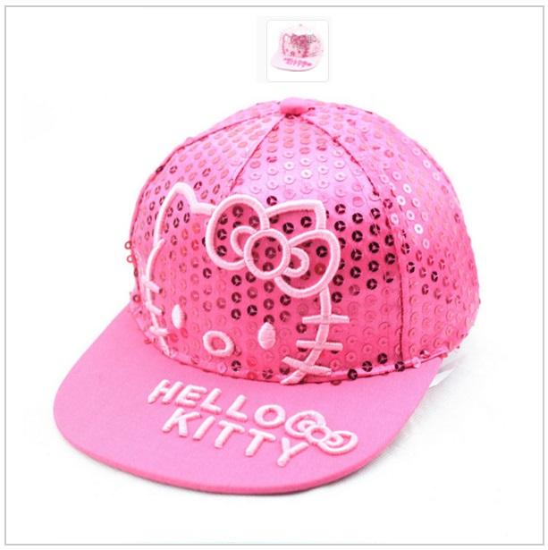 Dětská čepice Hello Kitty - růžová