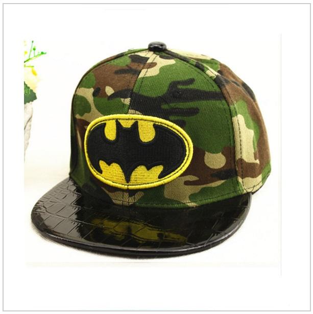 Dětská kšiltovka Batman - maskáčová