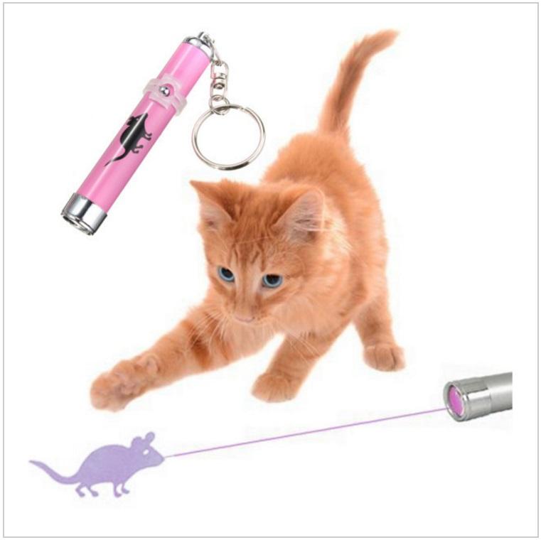 Laserová myš - zábavná hračka pro kočky