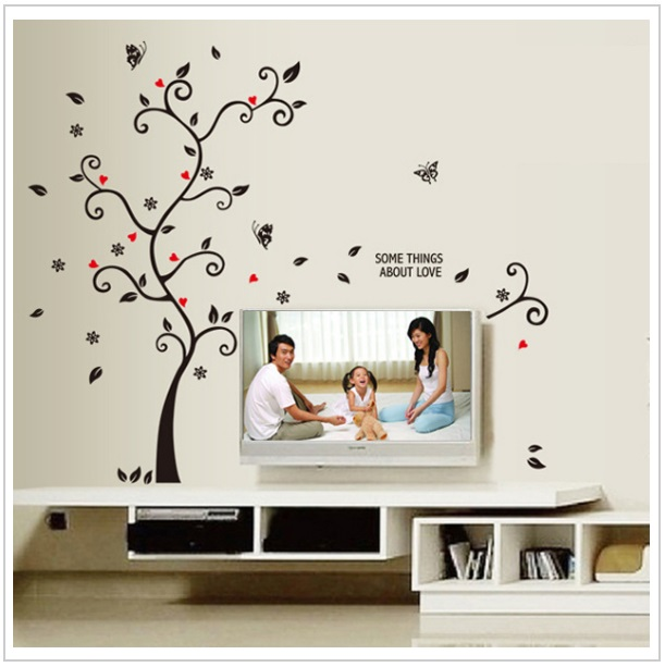 Dekorativní samolepka na zeď - Strom