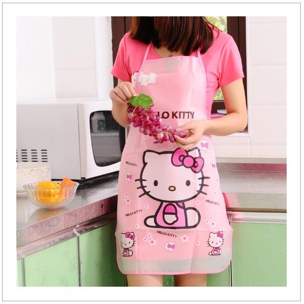 Dívčí kuchyňská zástěra - Hello Kitty